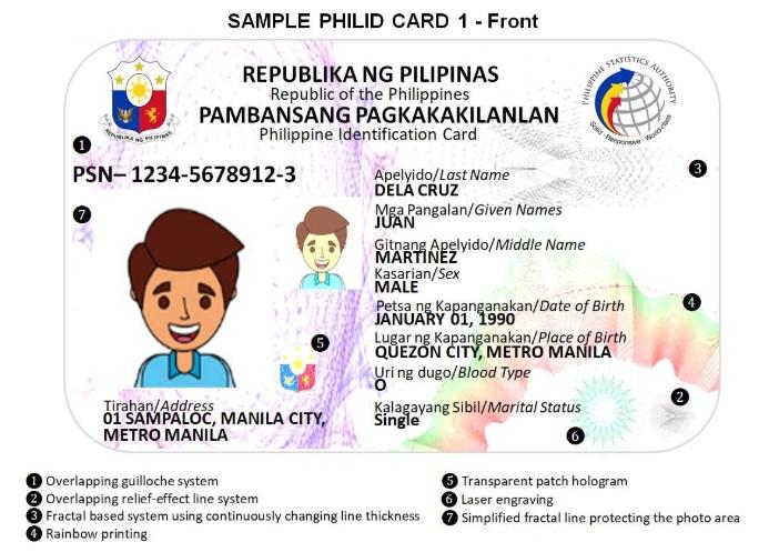 philippine id system law