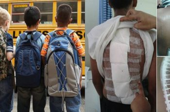 Carrying-Heavy-loaded-Backpack-is-Detrimental-to-your-Child's-Health