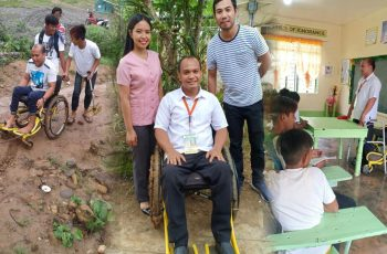 Grade-7-&-8-Teacher-Goes-to-School-Everyday-Despite-Disabilities,-Inspires-Netizens