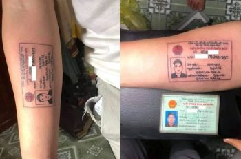 Take-it-From-the-Expert-Guy-from-Vietnam-Chose-a-Tattoo-with-His-ID-Card-as-the-Design